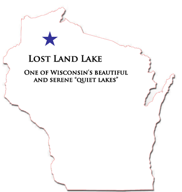 Lost Land Lake in Wisconsin