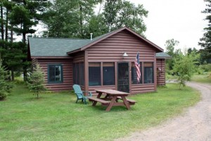 Balsam Cabin front