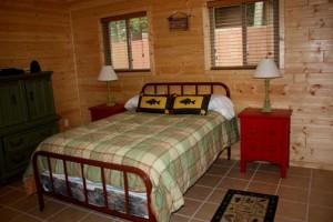 Bayside Cabin bedroom