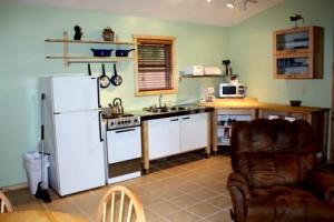 Bayside Cabin kitchen