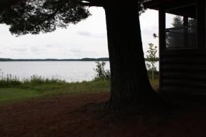 Edgewater cabin view
