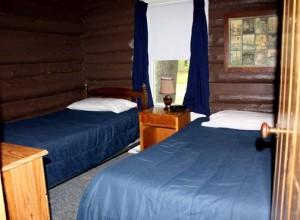 Grandview cabin beds