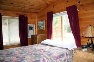 Grandview cabin bedroom